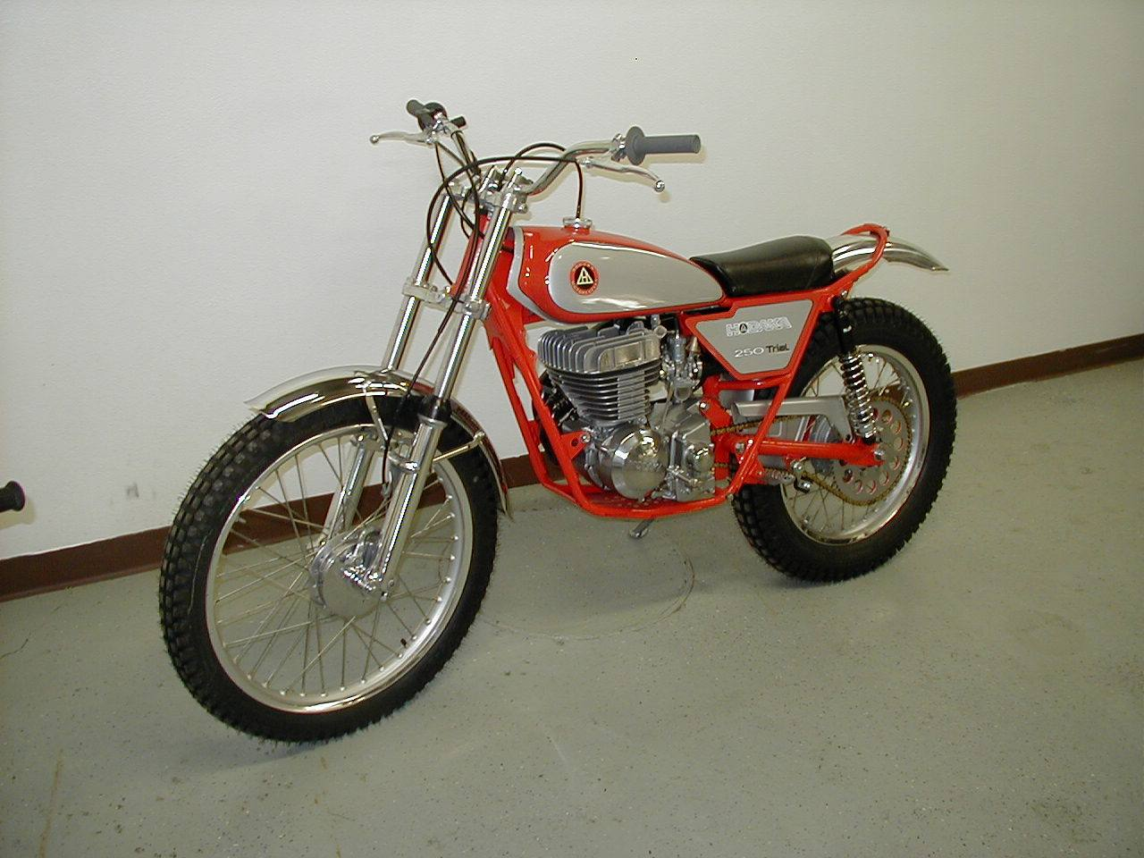 Vintage Trials Bike 89
