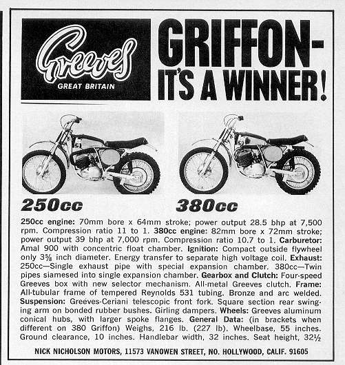 greeves riders association