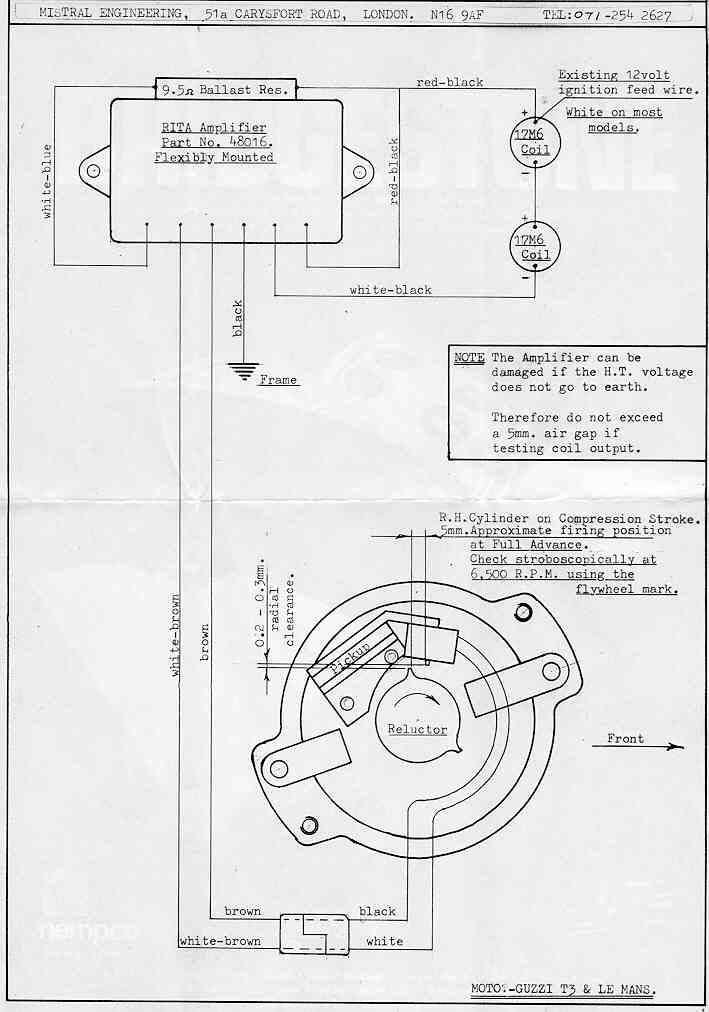Surprising Lucas Rita Electronic Ignition Wiring Diagram General Wiring Wiring 101 Orsalhahutechinfo