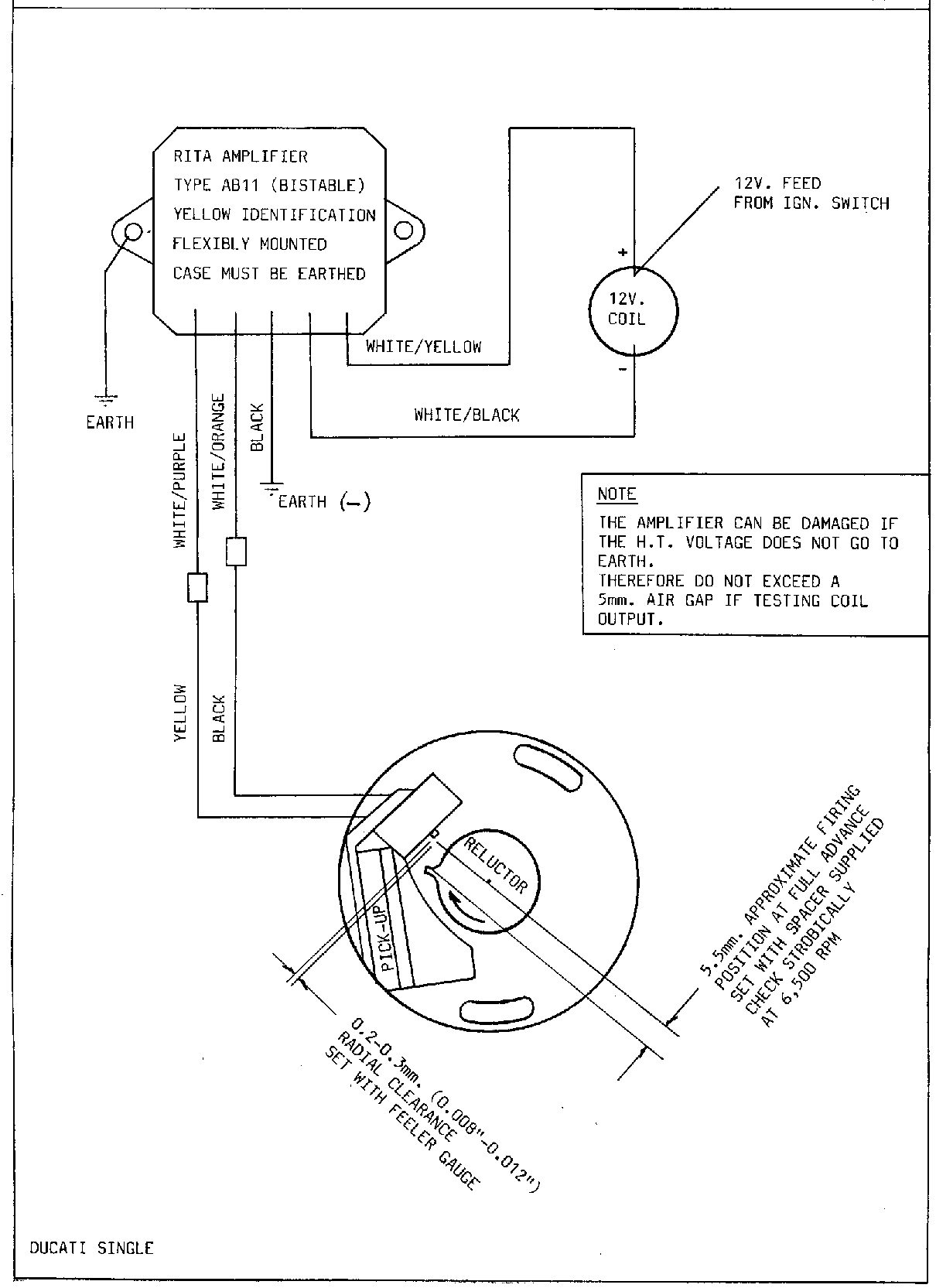 Ignition Coil Wiring Diagram Http Yamahaxs650com Installationhtm