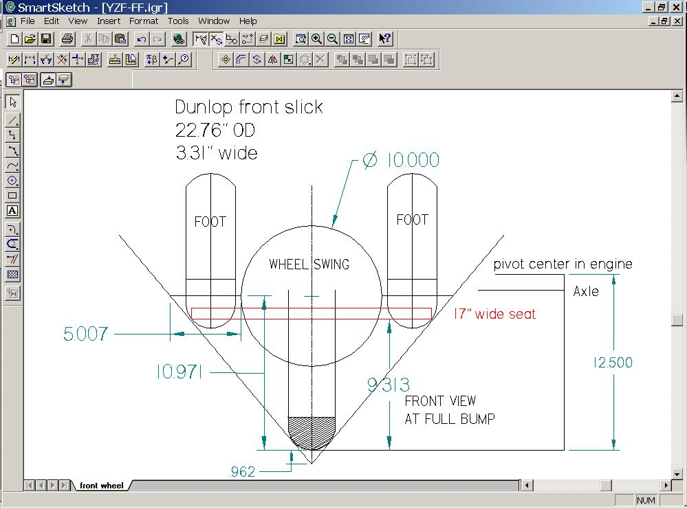 250 Degree Angle Our 50 Degree Lean Angle