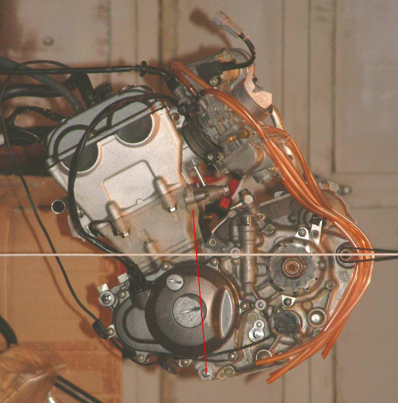 Euro Spares The Yz250fff Project. This Photo Shows The Yz250f Engine. Wiring. 2008 Yz250f Engine Diagram At Scoala.co