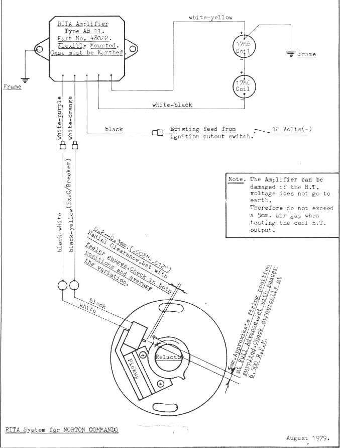 1974 Norton Commando Wiring Diagram